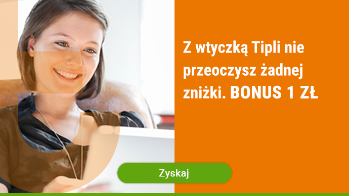 Tipli - bonus 1 zł za instalację