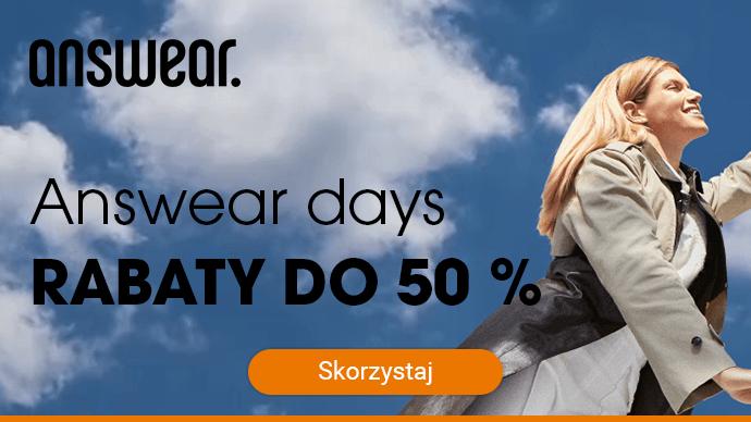 Answear days - rabaty do 50 %